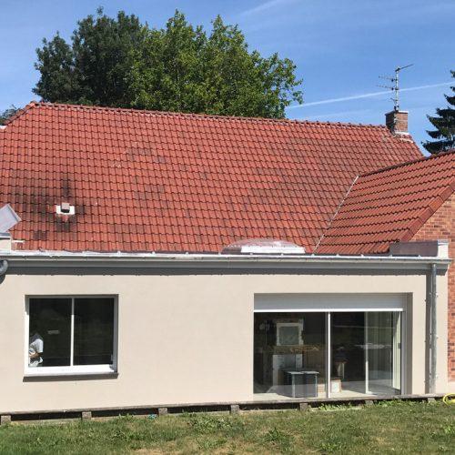 Extension enduit Marcq-en-Barœul (Lille)