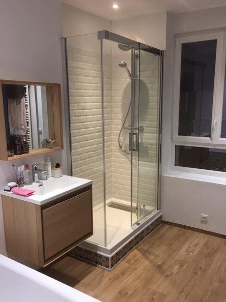 Extrem Réalisations de salle de bains - De Souza Barbosa Habitat (59-Nord) GK64