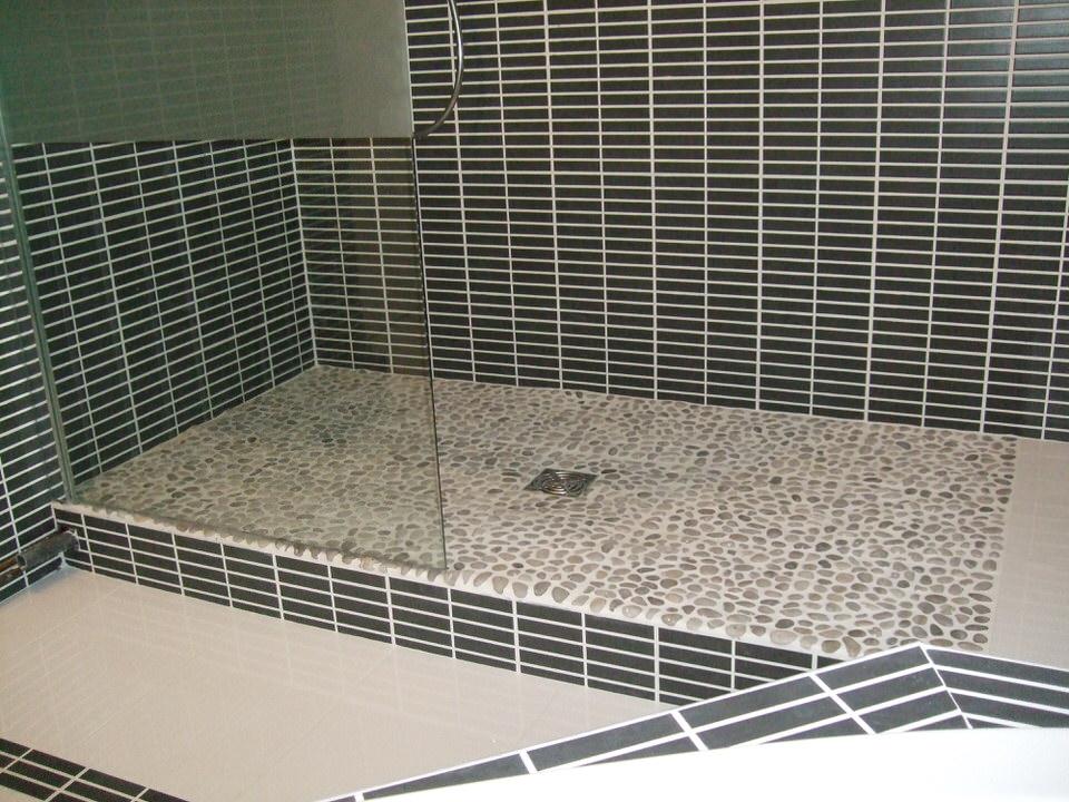 salle de bains avec douche italienne lambersart lille de souza barbosa habitat. Black Bedroom Furniture Sets. Home Design Ideas