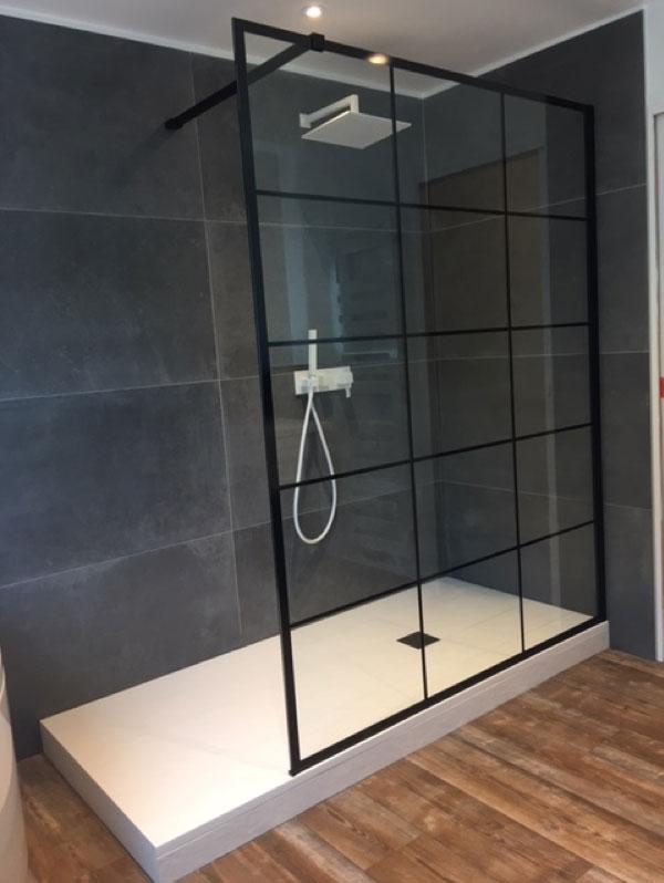 La verrière atelier dans la salle de bains ! - De Souza Barbosa Habitat